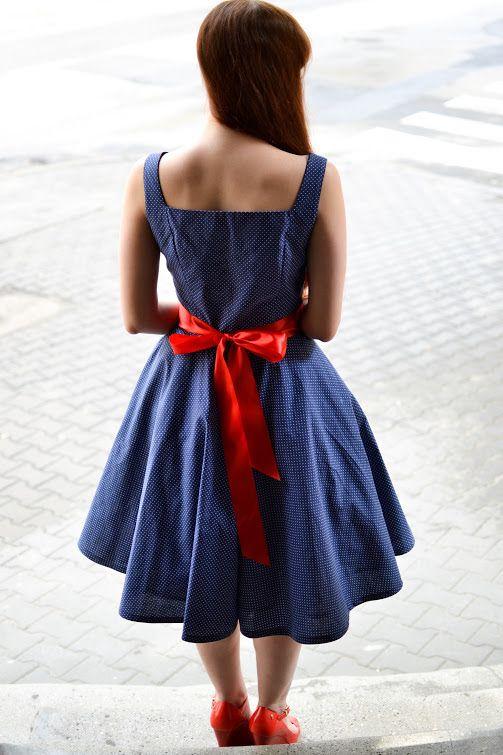 Sukienka Retro Vintage Z Kola Kropki Wesele 36 38 5524994729 Oficjalne Archiwum Allegro Dresses Fashion Summer Dresses