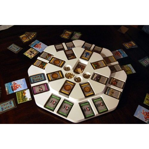 Dominion Pro Game Board Round White Board Games Tabletop Games Geek Games