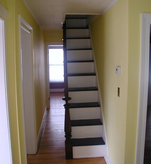 Types Of Attic Stairs Salter Spiral Stair Safe Affordable Spiral Staircases Attic Stairs Attic Renovation Small Staircase