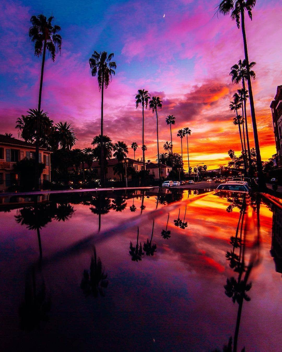 Beautiful Nature Los Angeles: California Dream, California, Sunset, Beautiful Sunset