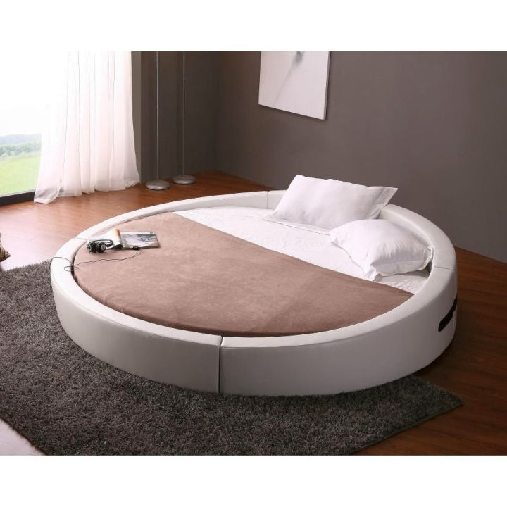 check out these 17 contemporary round bed frame designs and get inspired now - How Much Are Bed Frames