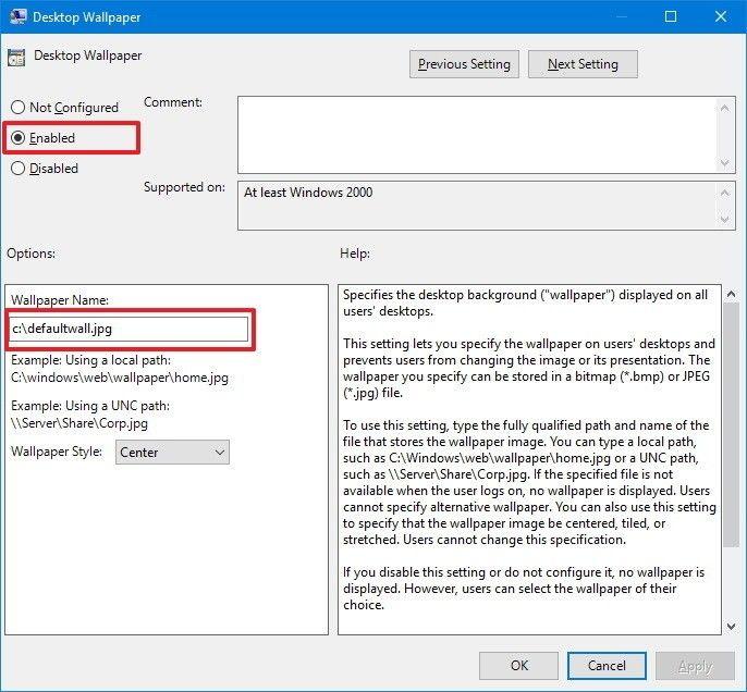 How To Stop People From Changing Your Windows 10 Desktop Wallpaper Desktop Wallpapers Backgrounds Wallpaper Display Windows