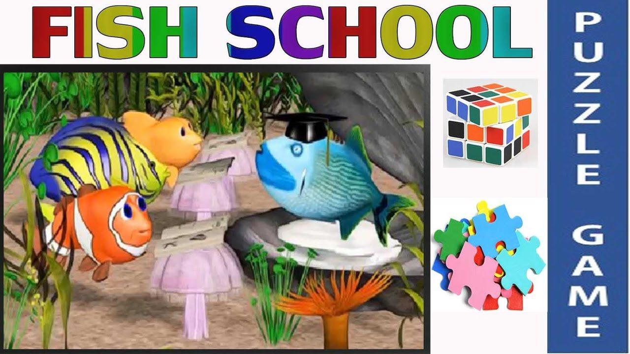 Fish School Puzzles Games for Children Puzzle Games