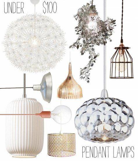 Under 100 Pendant Lamps Pendant Lamp Decor Light Fixtures