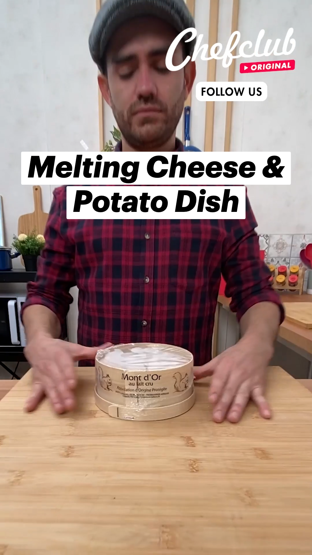 Melting Cheese & Potato Dish