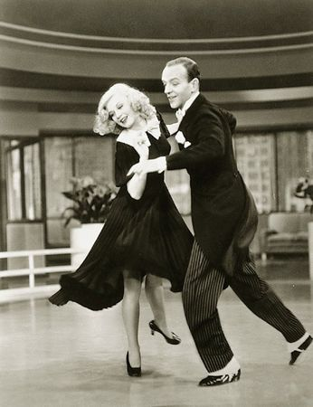 Swing Time W Fred Astaire And Ginger Rogers Ginger Rogers Fred Astaire Dance