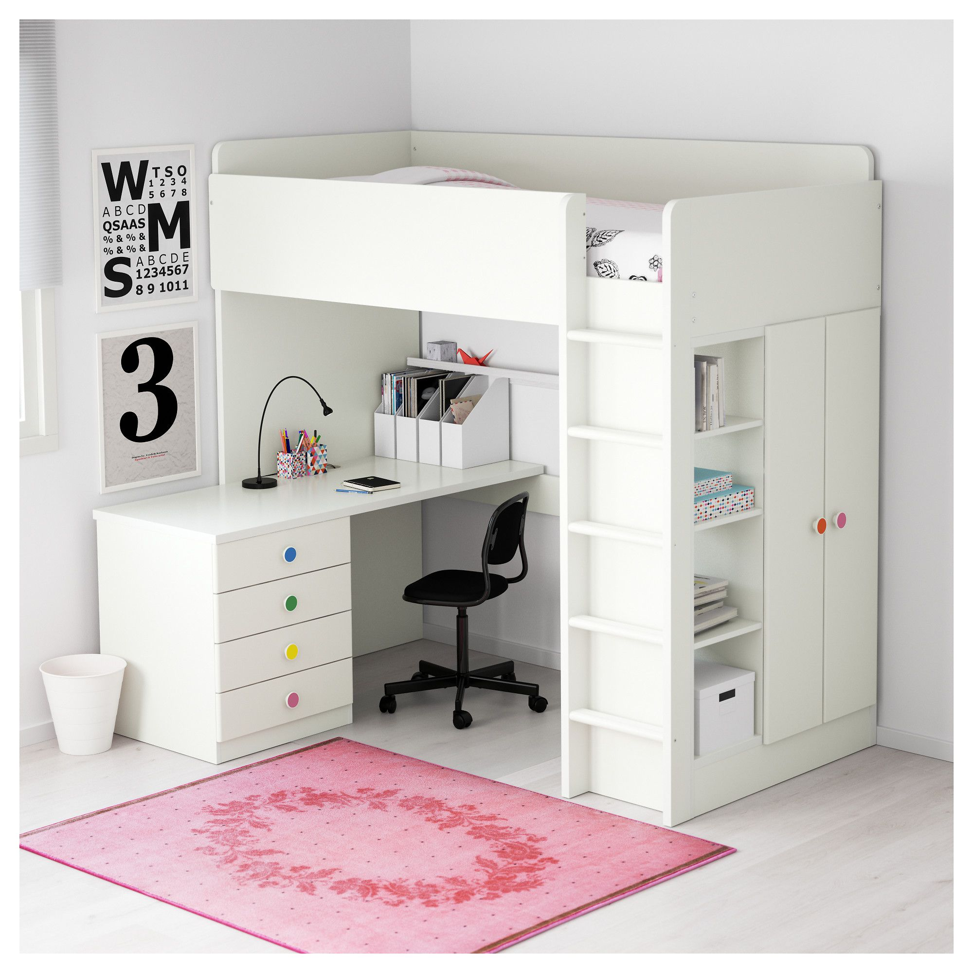 Shop For Furniture Home Accessories More Modern Loft Bed Girls Loft Bed Bed For Girls Room