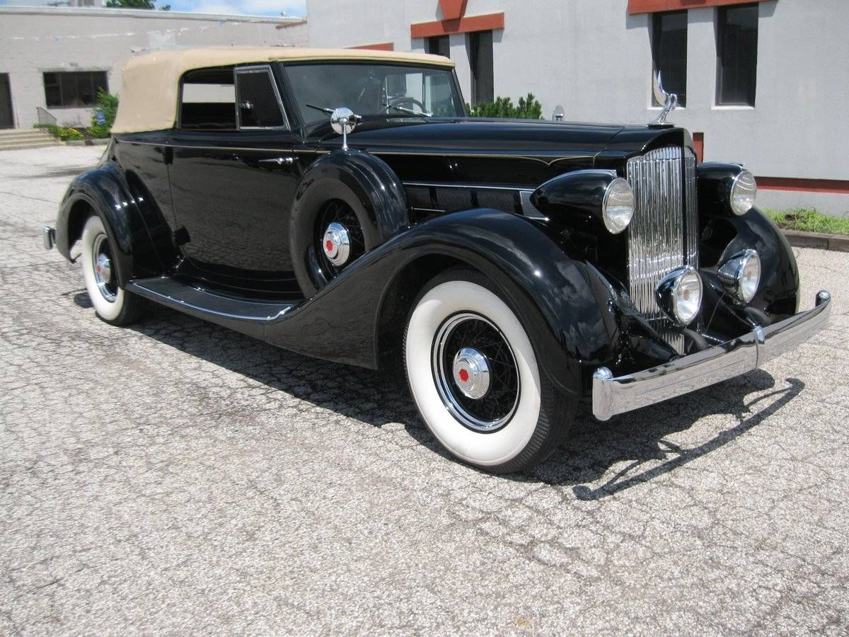 1935 Packard 1201 Eight Victoria Model 1201 Convertible Coupe | old ...