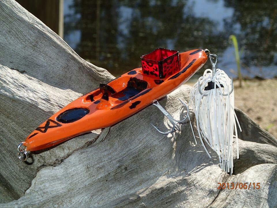 Kayak Fishing Lure Great Gift For A Kayak Angler Kayak