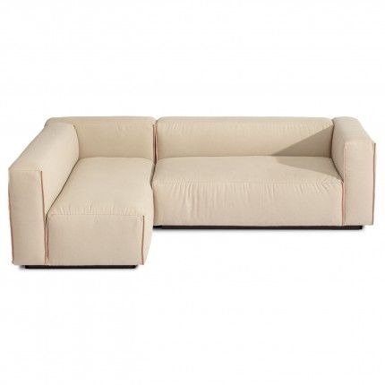 Cleon Small Sectional Sofa Stone Main 2 Sectional