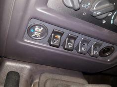 97 01 Jeep Cherokee Xj Police Package Switch Panel By Wizardpc On