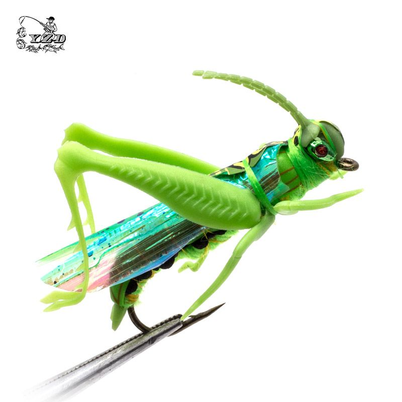Cricket Dry Fly Fishing Flies Set 4pcs Kit Flies Tying Material Lure Fishing Tackle Bait For Pike Carp Trout Bali Fly Fishing Fly Fishing Flies Trout Fly Tying