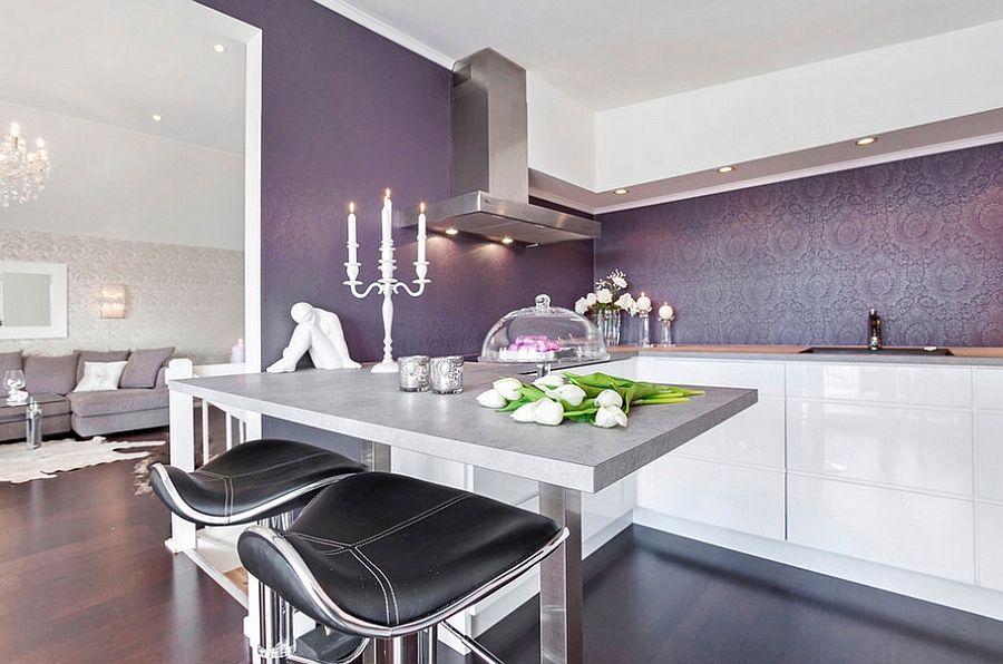 Superb Kitchen Backsplash Wallpaper Ideas Part - 6: Kitchen Wallpaper Ideas - Wall Decor That Sticks