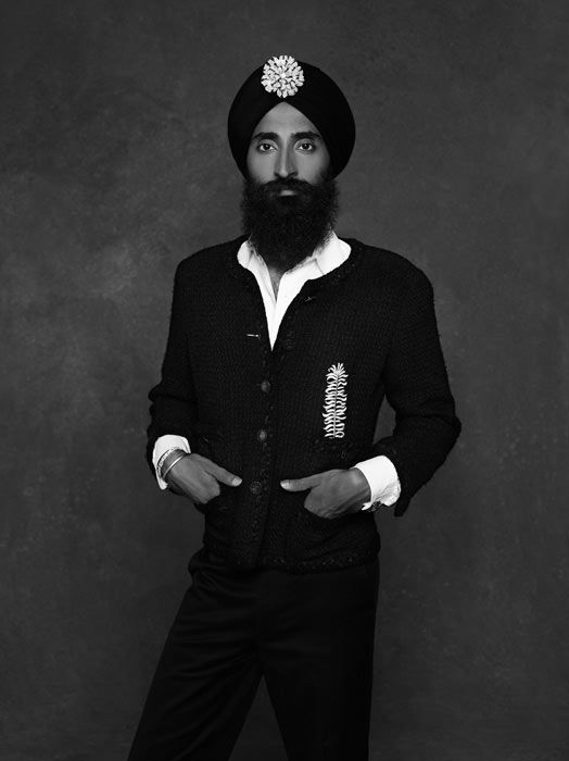 b213471d4d6a Chanel Little Black Jacket Exhibition. Waris Ahluwalia by Karl Lagerfeld
