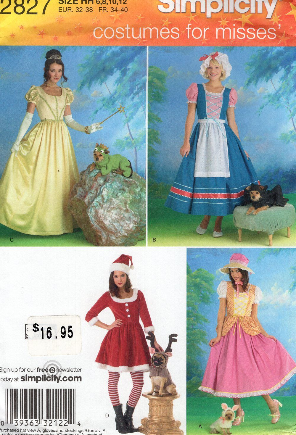 Magnificent Costume Sewing Patterns Free Adornment - Sewing Pattern ...
