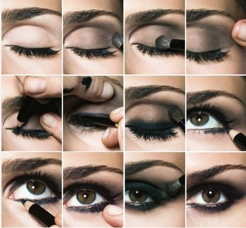 Assez Come fare un trucco occhi smokey eyes | Trucco | Pinterest  ON95