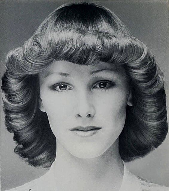 1970s Flicked Hair | Pinterest | 1970s, Vintage hair and Hair style