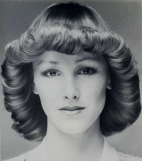 1970s Flicked Hair | Vintage Hair 1 | Pinterest | 1970s, Vintage ...