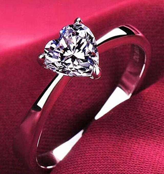 Cutedoumiao 925 Sterling Silver Rings Cubic Zirconia Eternity Engagement Wedding Bands Wedding Rings for Women Anniversary Eternity Bands 3 Band Width Rings CZ Engagement Bridal 7