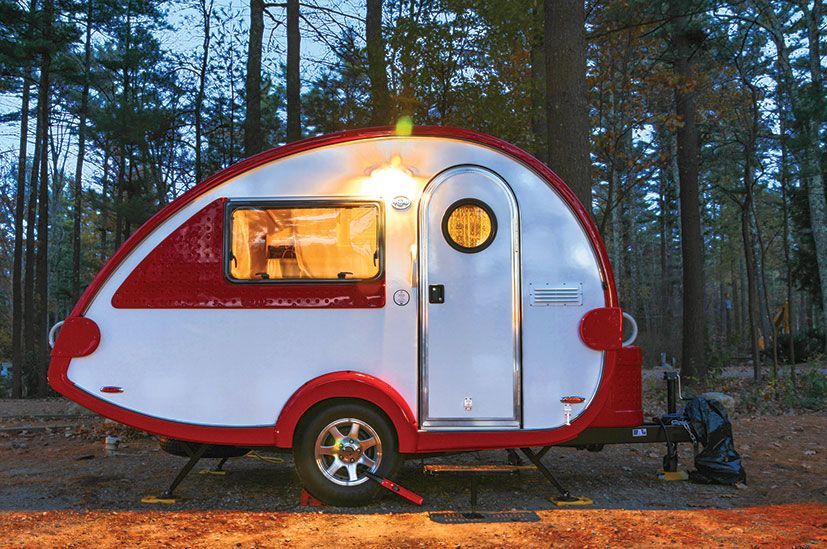 Small Towable Campers Teardrop Camper Trailer