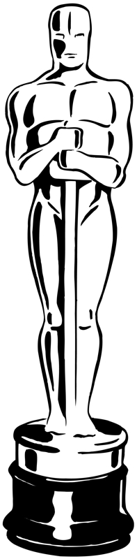 free oscar award coloring pages - photo#13