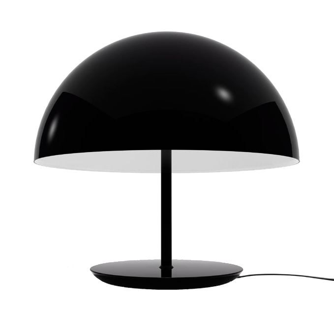 dome table lamp by todd bracher for mater. 2007.