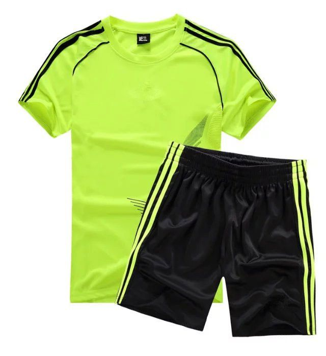 34894fc35 WENDYWU Summer Trainning Football Children Clothing Sets Boys Jerseys Soccer  Shirts+Shorts 2Pcs Kids Boy Sports Clothes Set #Affiliate