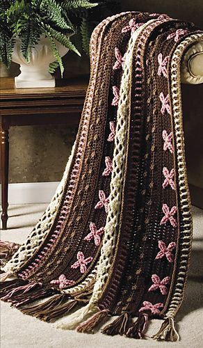 Ravelry: Neopolitan Throw pattern by Rena V. Stevens