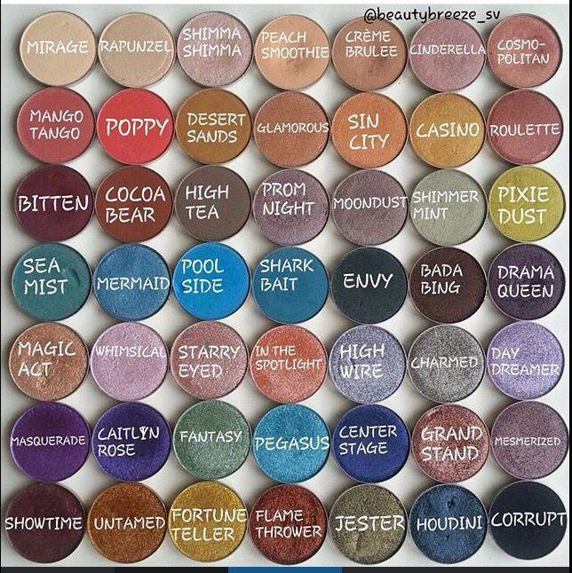 Makeup Geek Eyeshadows Beautybreeze_sv on Instagram