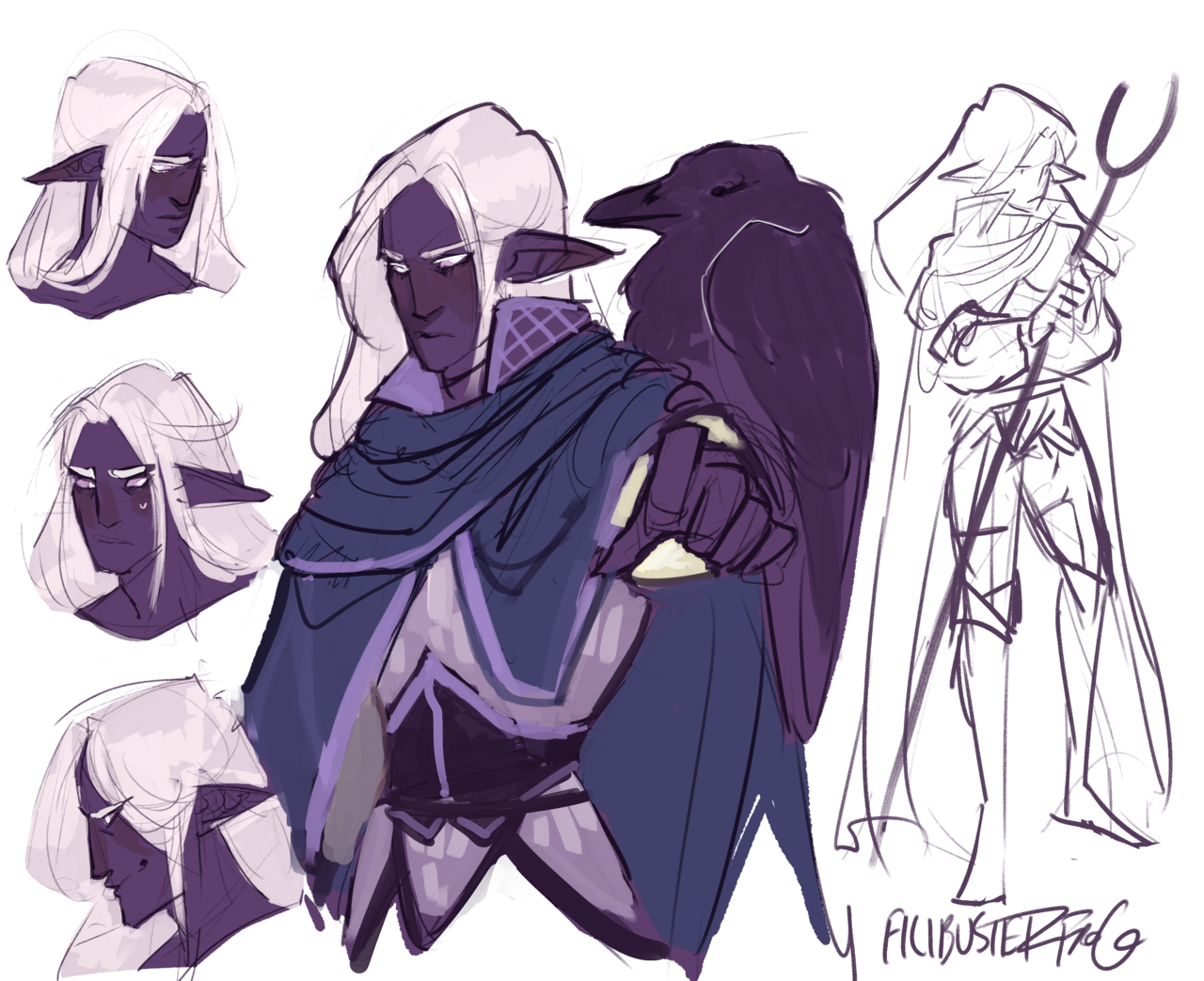 Drow Cleric For Soothinghymn Character Design Inspiration Character Art Character Design