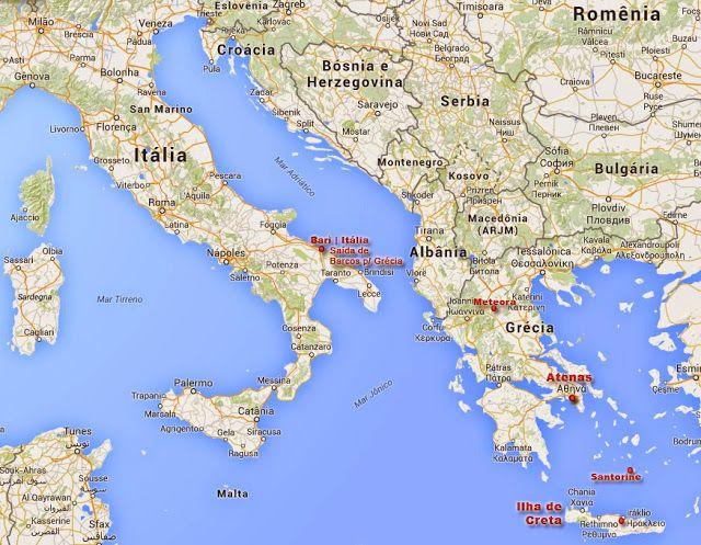 ilhas gregas mapa Mapa da Grécia, Ilhas Gregas e paises vizinhos | mapa italia  ilhas gregas mapa