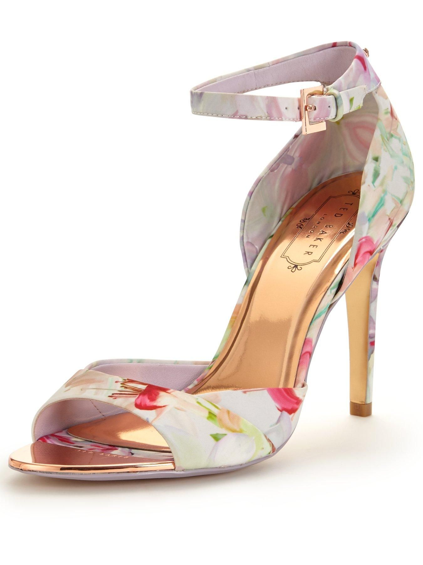 f1384207f73 Ted Baker Caleno Floral Heeled Sandal - Pink Step up your footwear game  just in time
