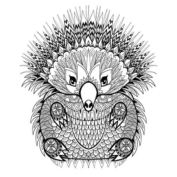 IMALA A5 Stamp Set Hedgehog (492793) Create and Craft