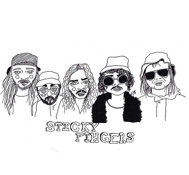 #stickyfingers#cactei