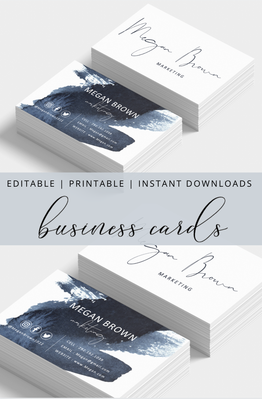 This Item Is Unavailable Etsy Modern Business Cards Download Business Card Printable Business Cards