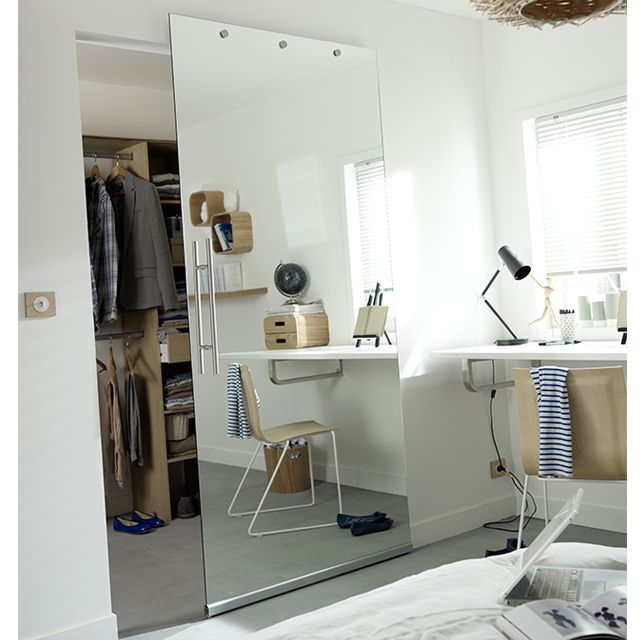 Systeme Coulissant Pose Invisible Porte Verre Timo Castorama Doors Interior Rooms With Carpet Glass Door