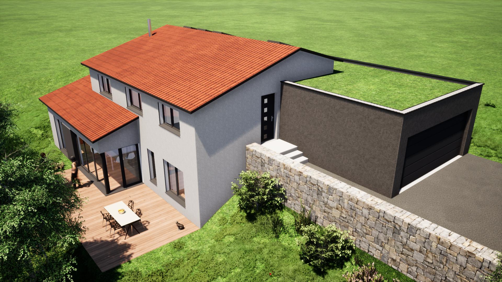 Construction Maison En Pente construction maison individuelle terrain en pente - stéphen