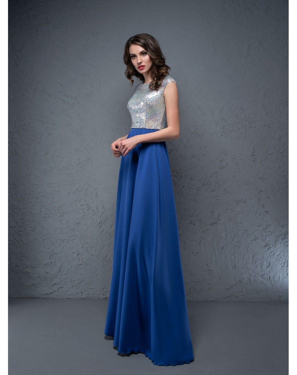 Luxusné spoločenské šaty NYCOLE  49bd40ae4af