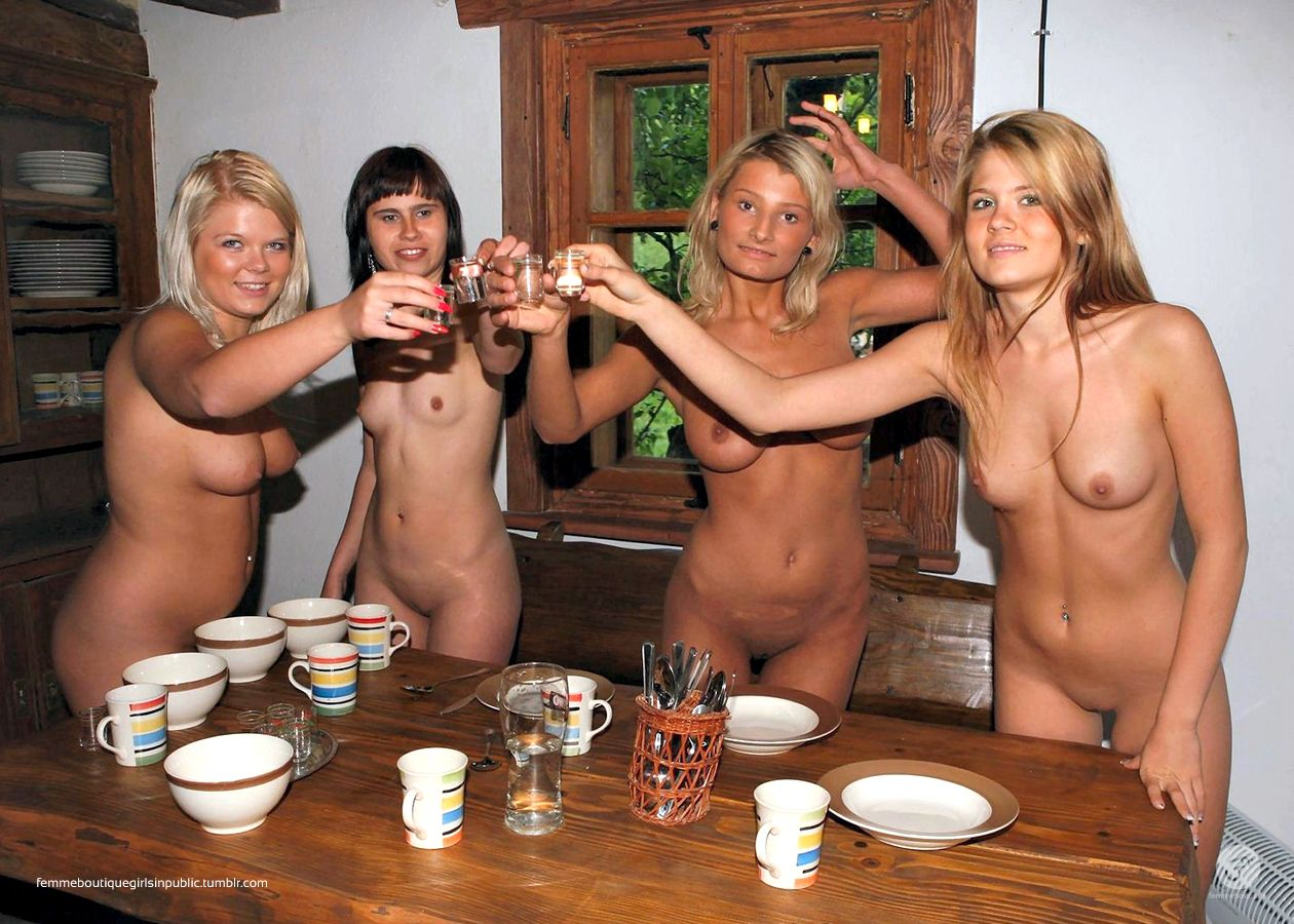 nudist Women at home