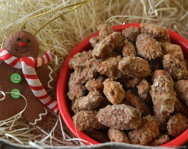 Cinnamon Almonds Recipe Almond Recipes Cinnamon Almonds Snacks