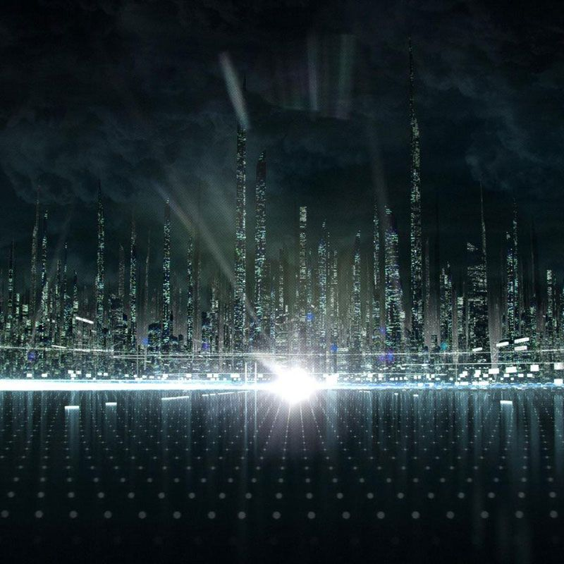 Imaginative Futuristic City Wallpaper