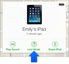 Use Lost Mode In Find My Iphone On Icloud Com Ipad Iphone Find My Phone