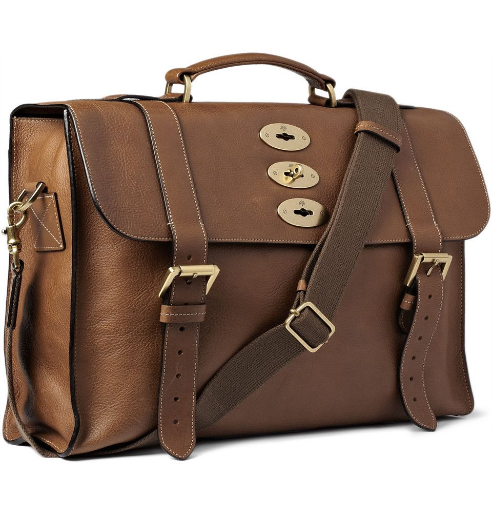 Mulberry - Ted Convertible Leather Messenger Bag|MR PORTER