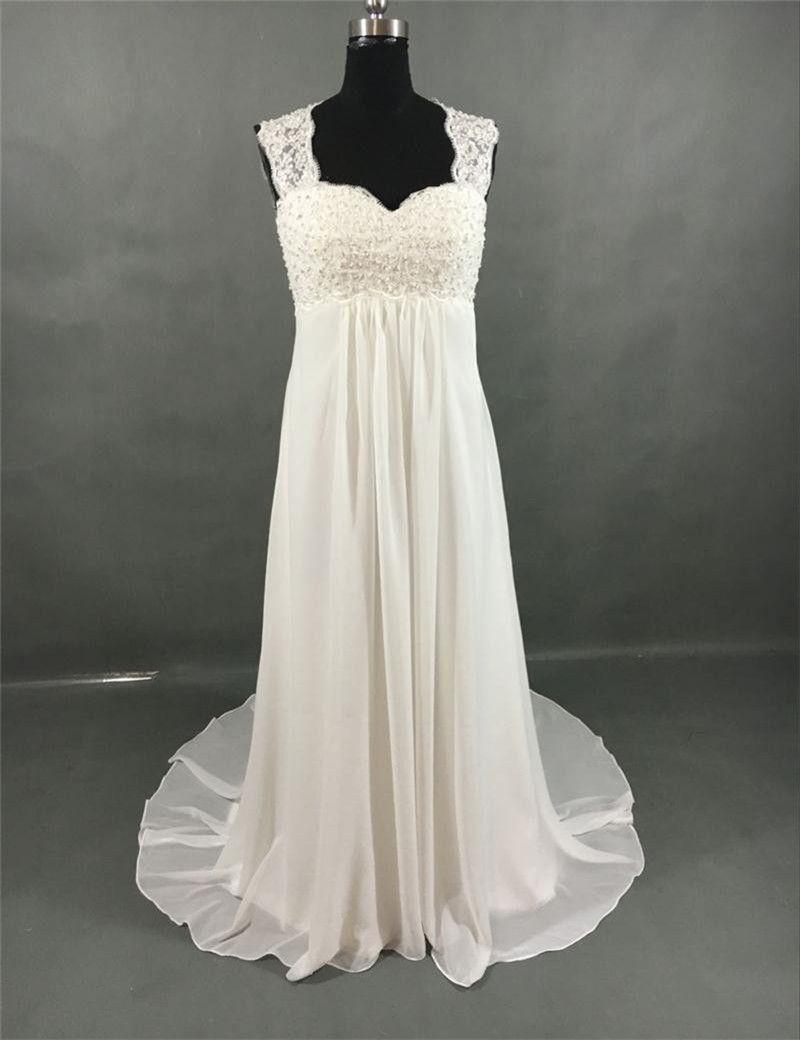 Click to buy ucuc vestido de fiesta elegant simple white wedding