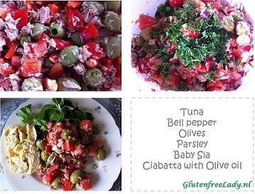 Tuna salad <3 http://glutenfreelady.nl/tuna-salad/