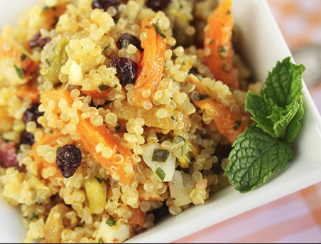 Recipe: Apricot Quinoa Salad