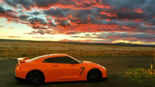 Orange Nissan Gtr Wallpaper In 4k Ultra Hd Places To Visit