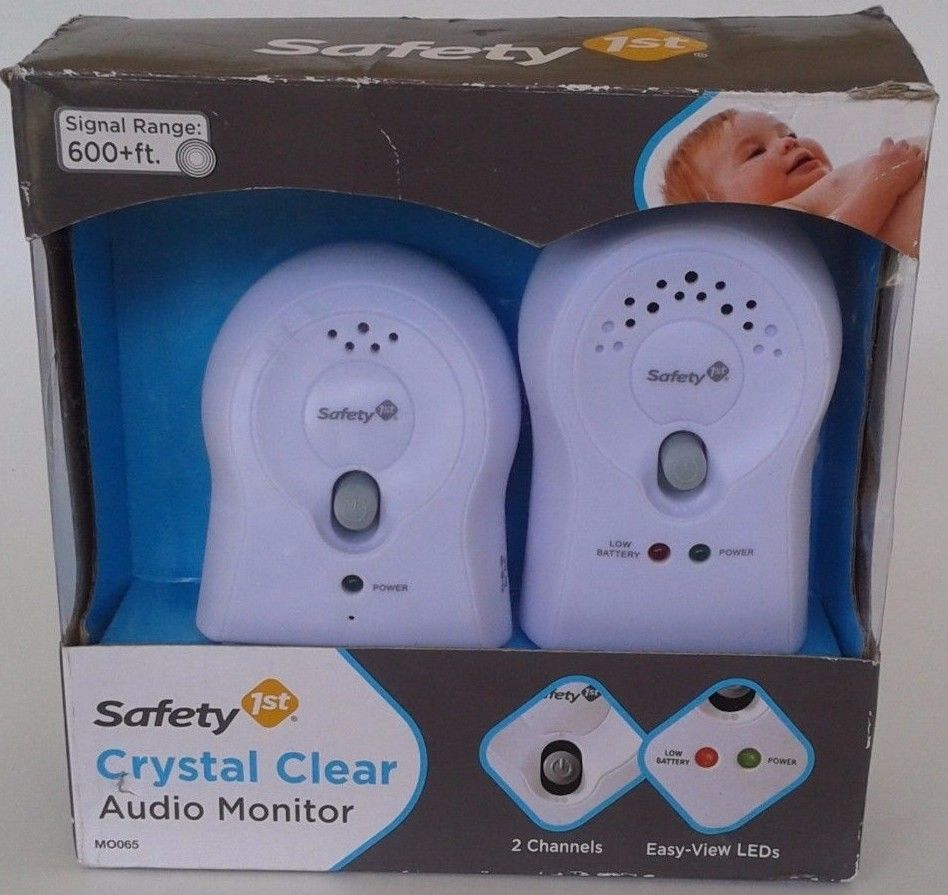Safety 1st Crystal Clear Audio Monitor Baby Monitor