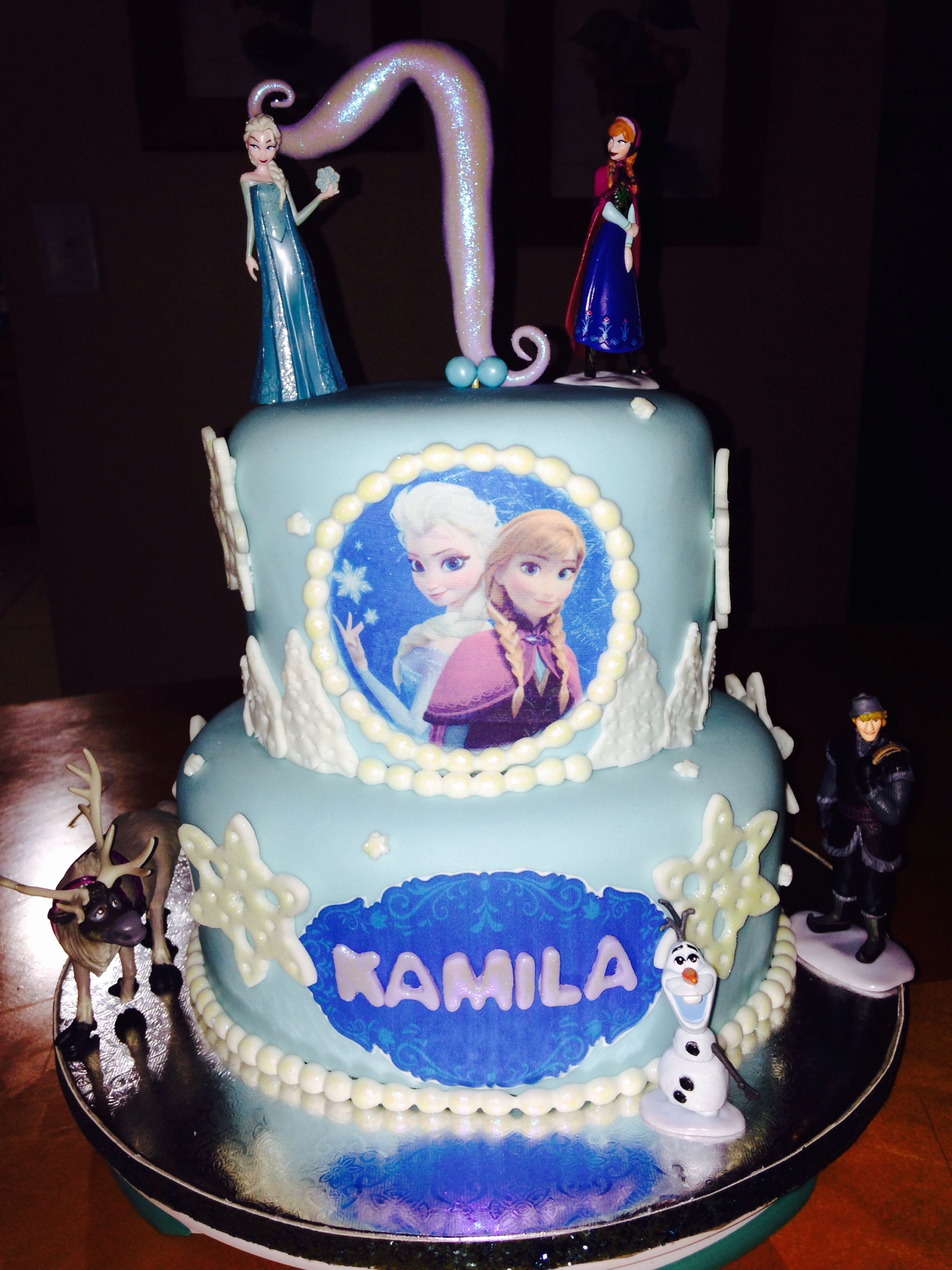 Disney Frozen Ana And Elsa C Lulys Cakes By Design Let Your