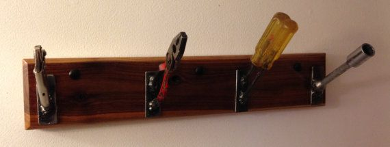 Coat Rack  Up-cycled Tools by TheOldRavenWorkshop on Etsy